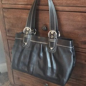 Never Used Coach leather purse